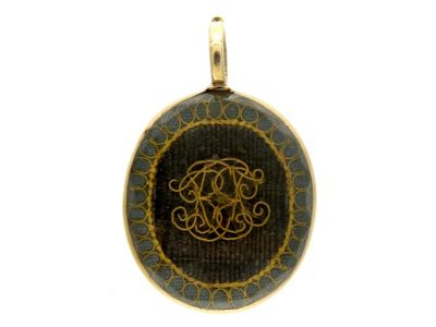 17th Century 18ct Gold Stuart Crystal Pendant
