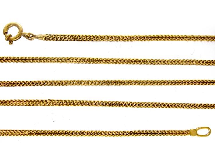 Gold Early 20th Century Chain