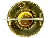 Scottish Gold & Agate Brooch