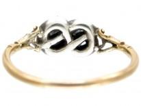 Georgian Lovers Knot Ring