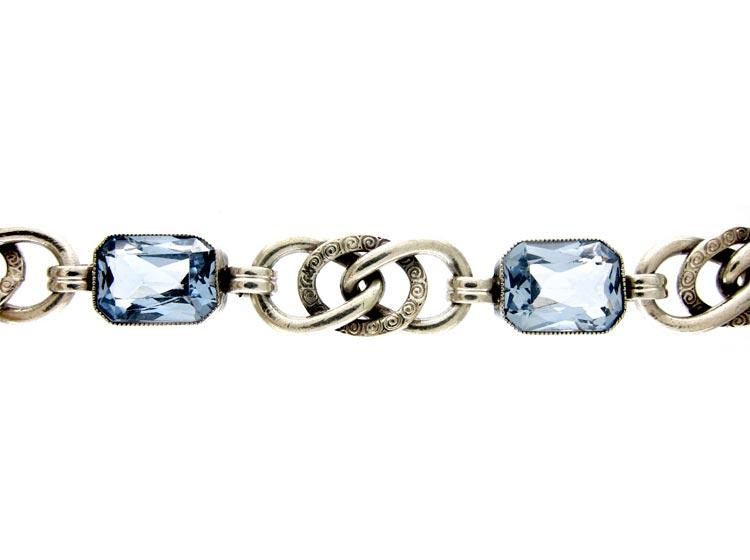 Silver & Paste Bracelet