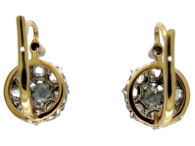 Rose Diamond Earrings