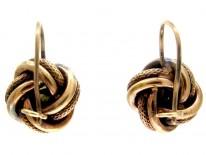 Opal Knot Earrings