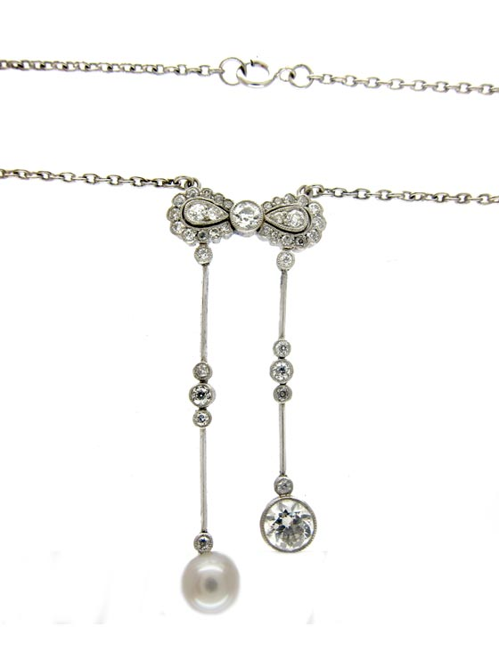Diamond Negligee Pendant