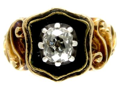 Georgian Mourning Ring