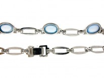Silver & Moonstone Necklace