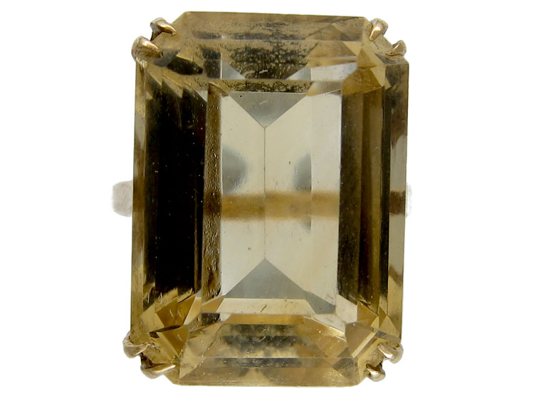 Citrine 9ct Gold Ring