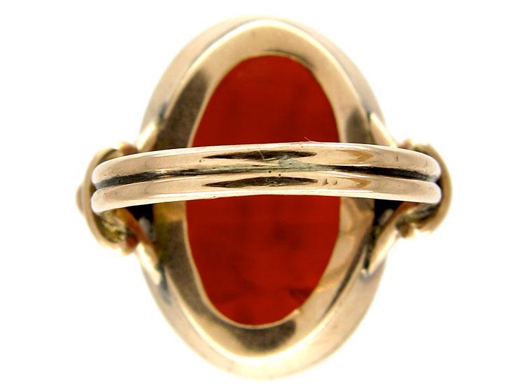 Carnelian Intaglio Ring