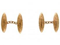 Gold Bullet Cufflinks