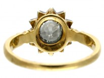 Early Victorian Diamond Cluster Ring