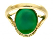 Hardstone Cameo Ring