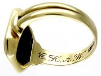 Tourmaline Gold Ring