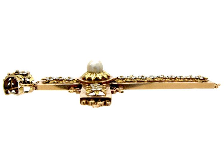 Regency Gold Cross
