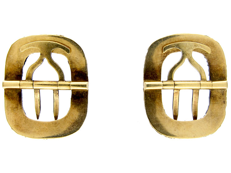 Georgian Gold Miniature Buckles