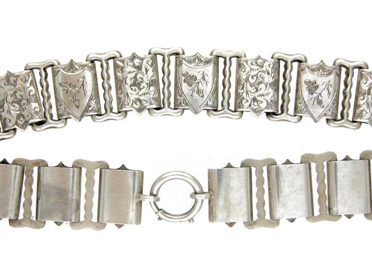 Silver Victorian Collar