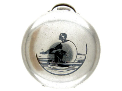 Silver Rowing Watch