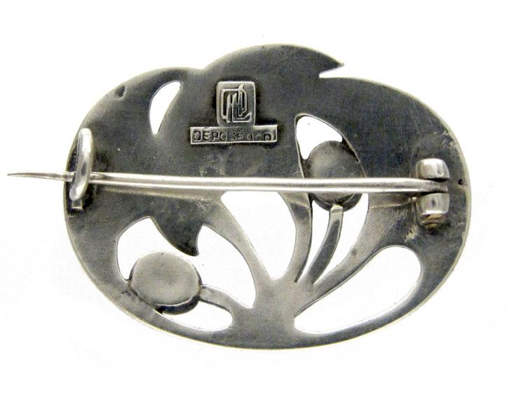 Art Nouveau Brooch by Levinger