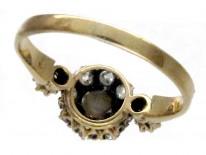 Diamond & Pearl Cluster Ring