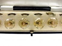 Set of Citrine Dress Buttons