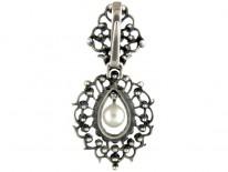 Silver & Paste Pendant in Original Case