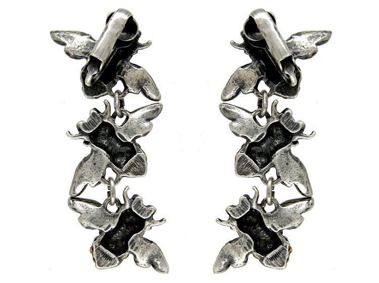 Triple Paste Bee Earrings