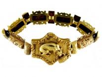 Georgian Gold Dog Bracelet