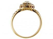 Victorian Diamond Cluster Ring