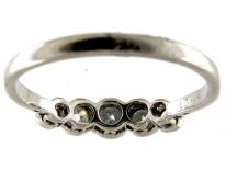 Diamond Five Stone Edwardian Ring