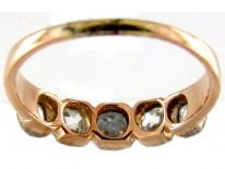Georgian Five Stone Diamond Ring