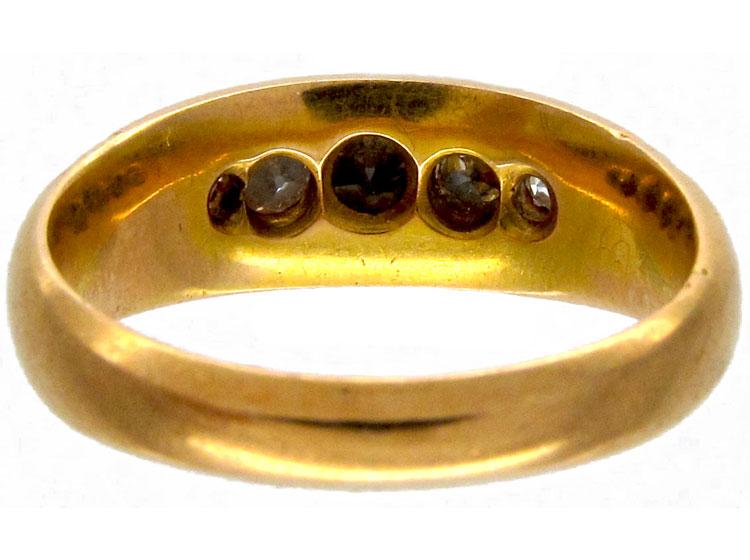 Victorian Five Stone Diamond Ring