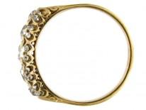 Five Stone Victorian Diamond Ring