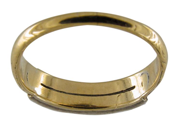Two Row Rose Diamond Ring