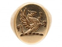 9ct Gold Griffin Signet Ring