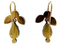 Georgian Paste Drop Earrings