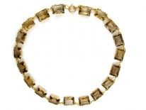 Citrine & Gold Necklace