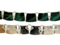 Malachite & Silver Necklace