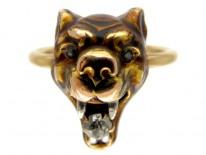 Tiger's Head Ring