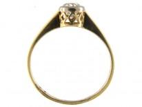 Diamond Edwardian Solitaire Ring