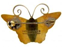 David Andersen Butterfly Brooch