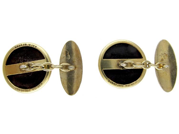Silver Wedgwood Horse Cufflinks