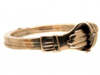 Victorian Gold Fede Ring