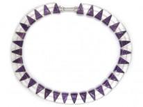 Amethyst & Rock Crystal Necklace
