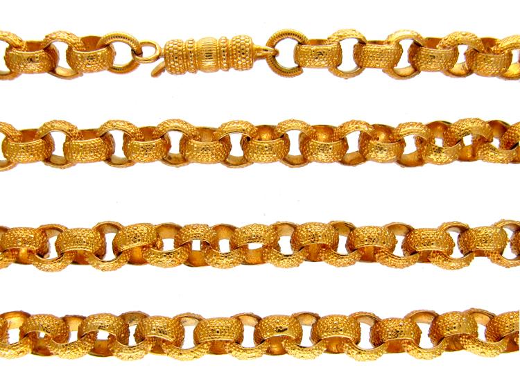 Georgian Pinchbeck Chain