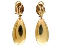 Italian 15ct Gold Drop Earrings