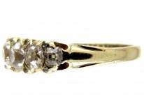Diamond Seven Stone Victorian Ring