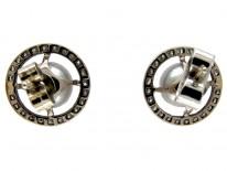 Diamond & Pearl Round Earrings