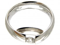 Georg Jensen 18ct White Gold & Diamond Ring