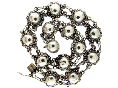 Danish Silver Collar