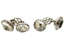 Georgian Silver & Paste Cufflinks