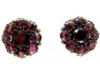 Dorrie Nossiter Garnet Earrings